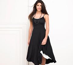 Metalicus Basics collection Easy Slip Dress in black