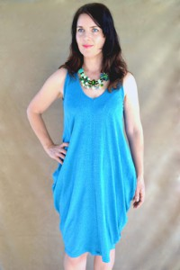 faltered tank dress 2