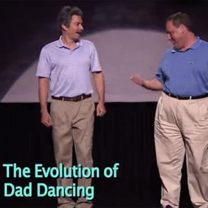 Jimmy Fallon Demonstrates  The Evolution of Dad Dancing